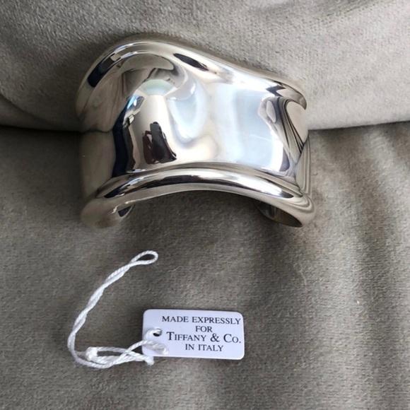 4e8b51041 Tiffany & Co. Jewelry   Authentic Tiffany Co Peretti Bone Cuff Left ...